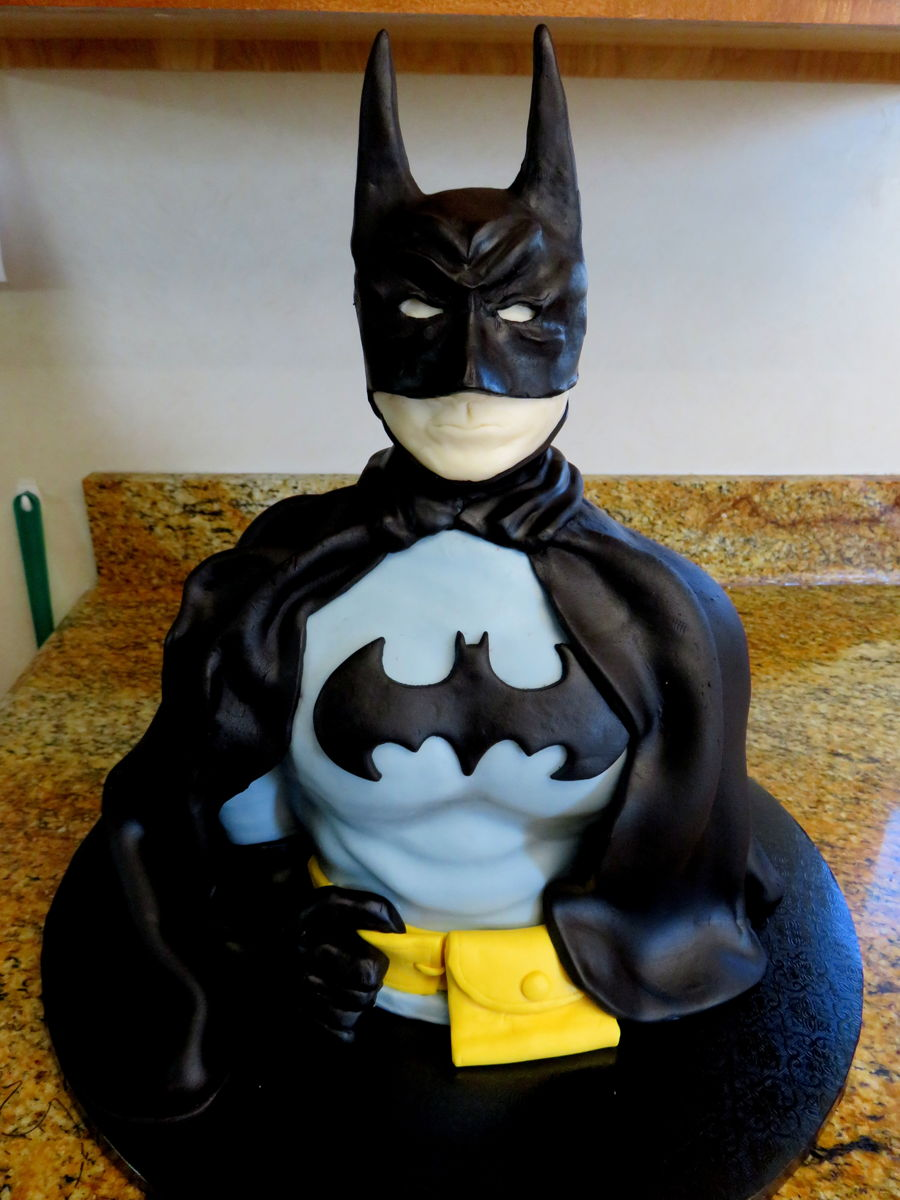 Batman Birthday Cake CakeCentralcom