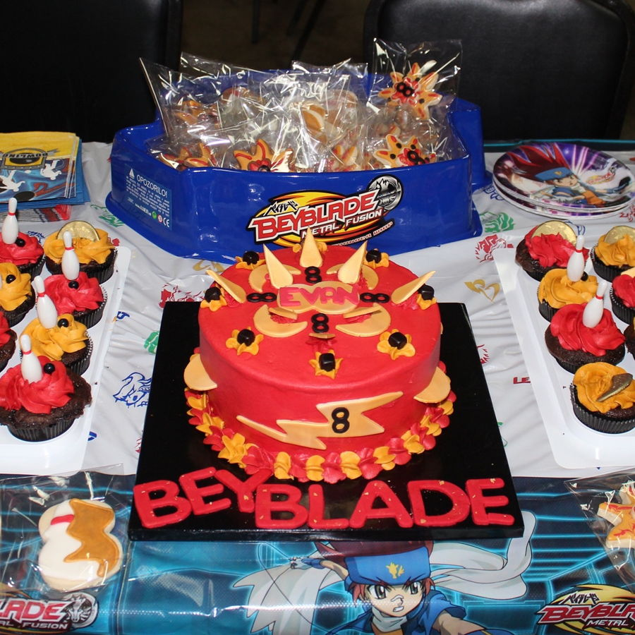 Beyblade And Bowling Cakecentral Com