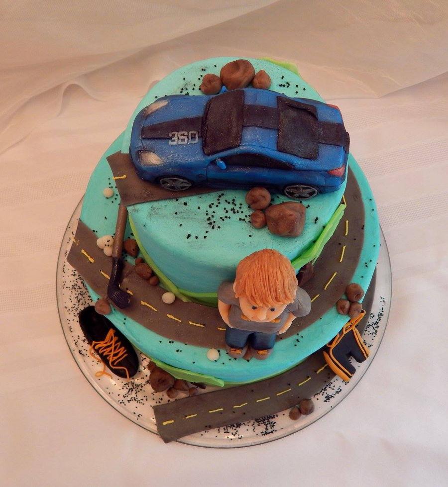 Boy S Sweet 16 Cake Cakecentral Com