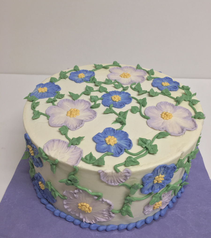 Brush Embroidery  CakeCentral