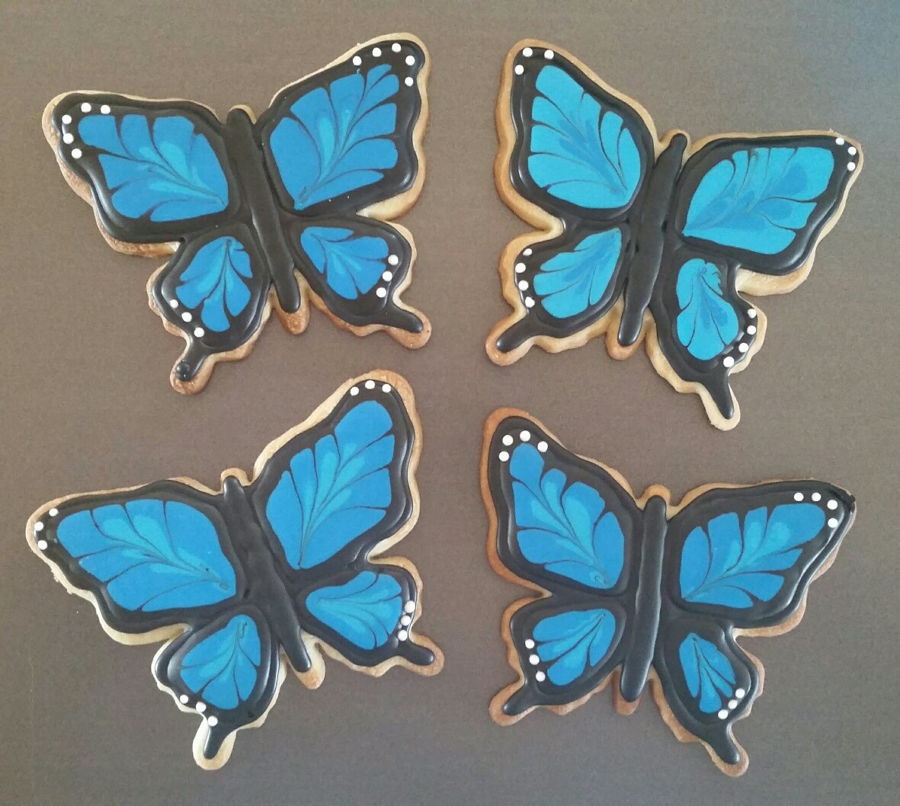 Butterfly Sugar Cookies on Cake Central
