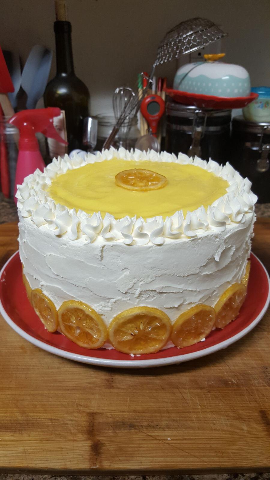Candied Lemon Cake - CakeCentral.com