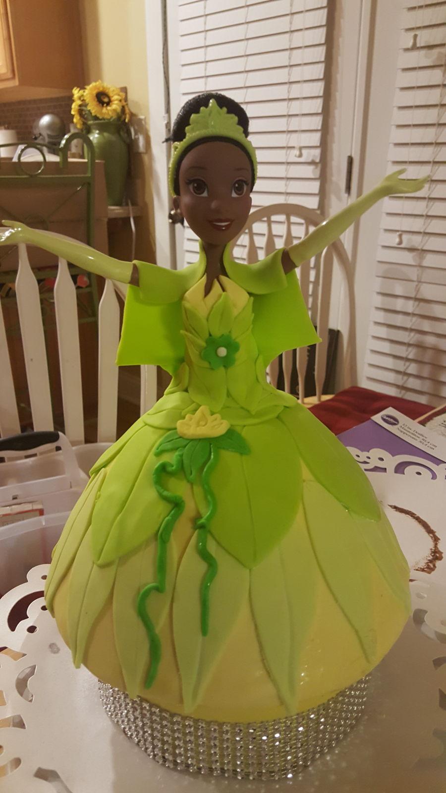Disney Princess Tiana Cake Cakecentral Com