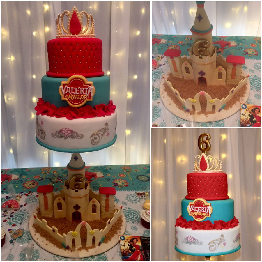 Elena Of Avalor Birthday Cake on Cake Central
