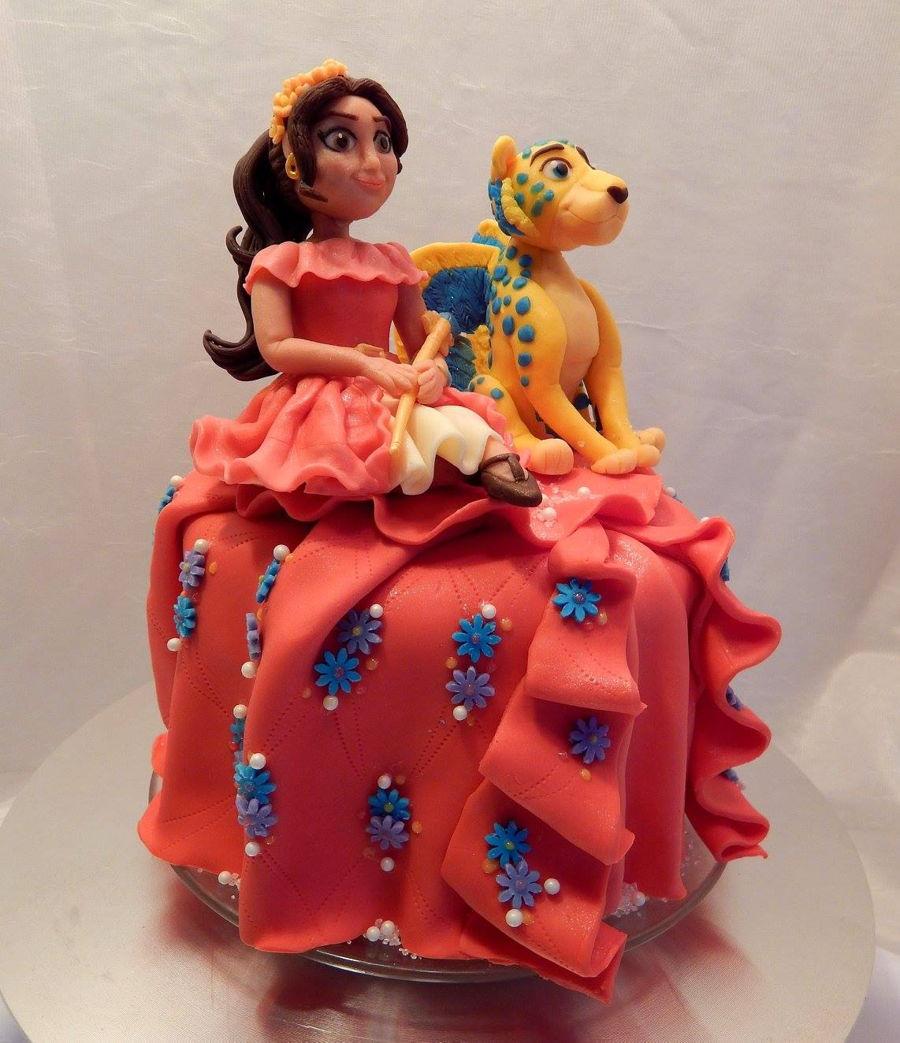 Elena Of Avalor Birthday Cake
