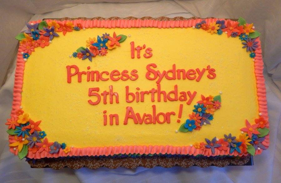 Elena Of Avalor Cakes