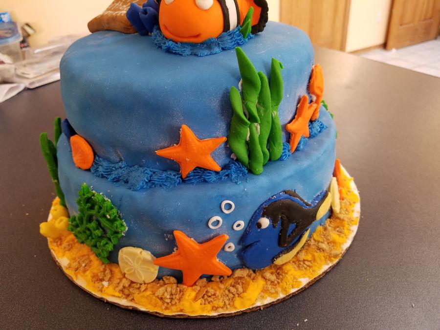Cake Decorations Nemo : Finding Nemo - CakeCentral.com