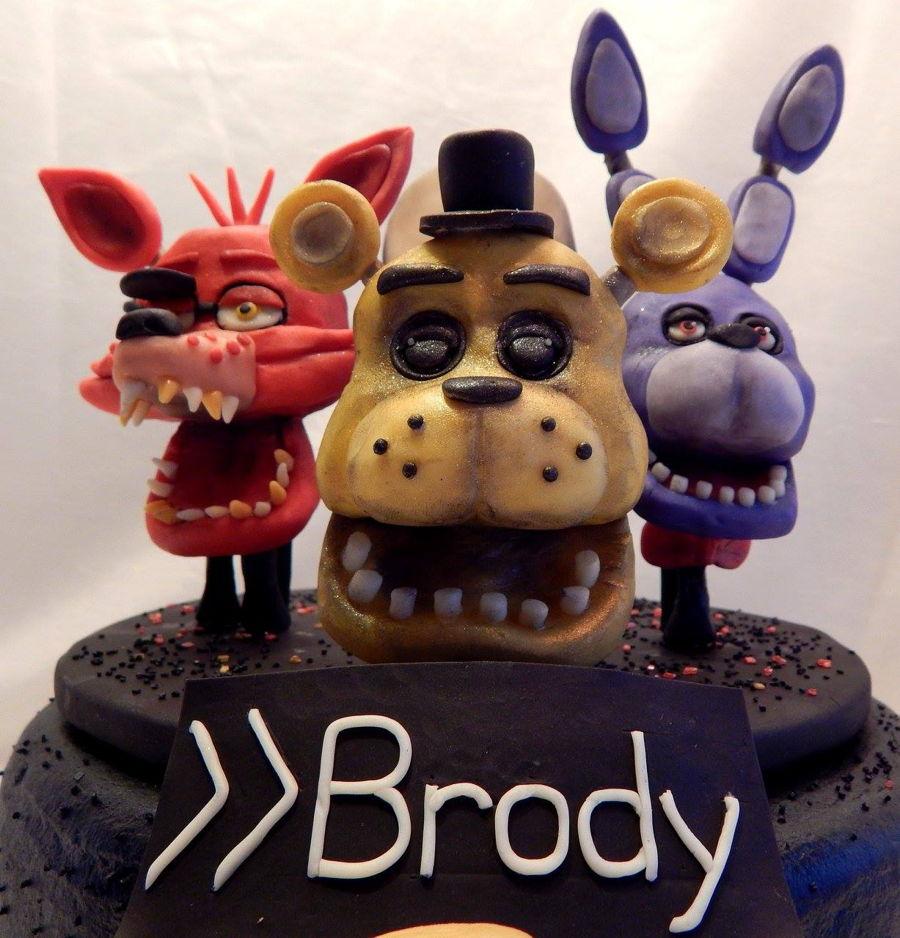 Five Nights At Freddy S Birthday Cake