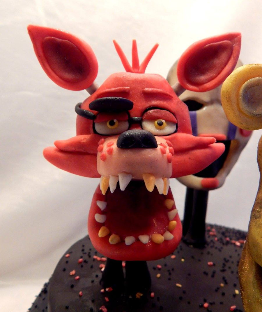 Five Nights At Freddy S Cake With All Characters