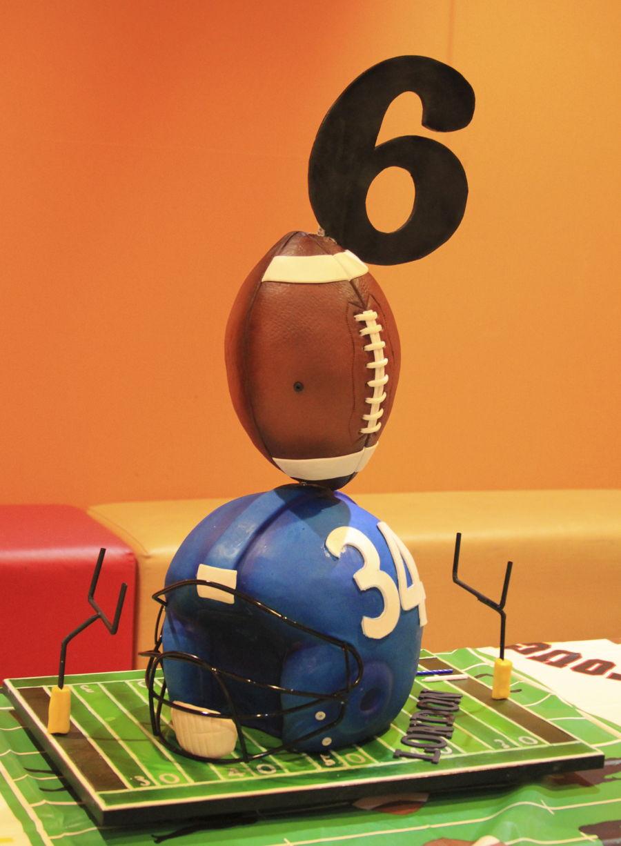 Football Theme Cake Cakecentral Com