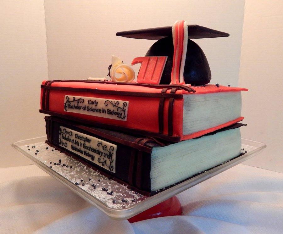 Graduation Book Cake - CakeCentral.com
