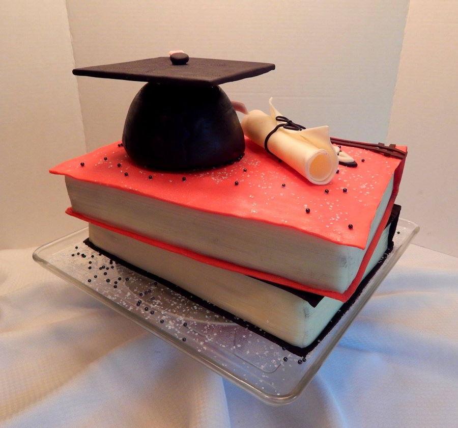 Graduation Book Cake Images : Graduation Book Cake - CakeCentral.com