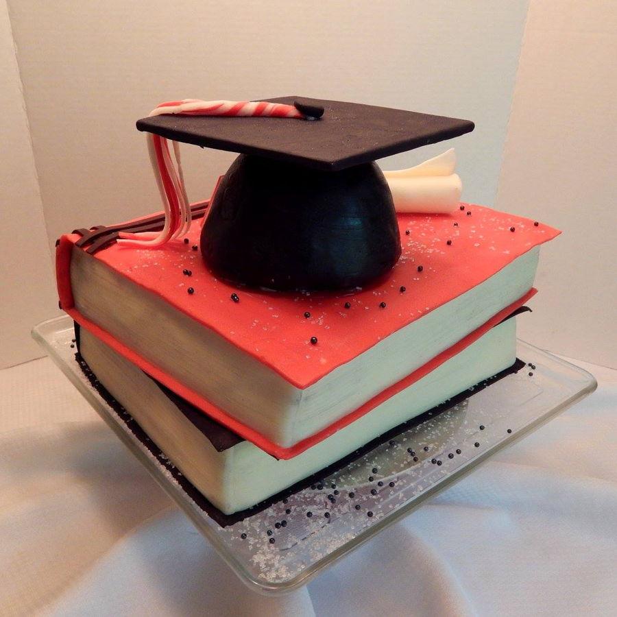 Graduation Book Cake Cakecentral Com