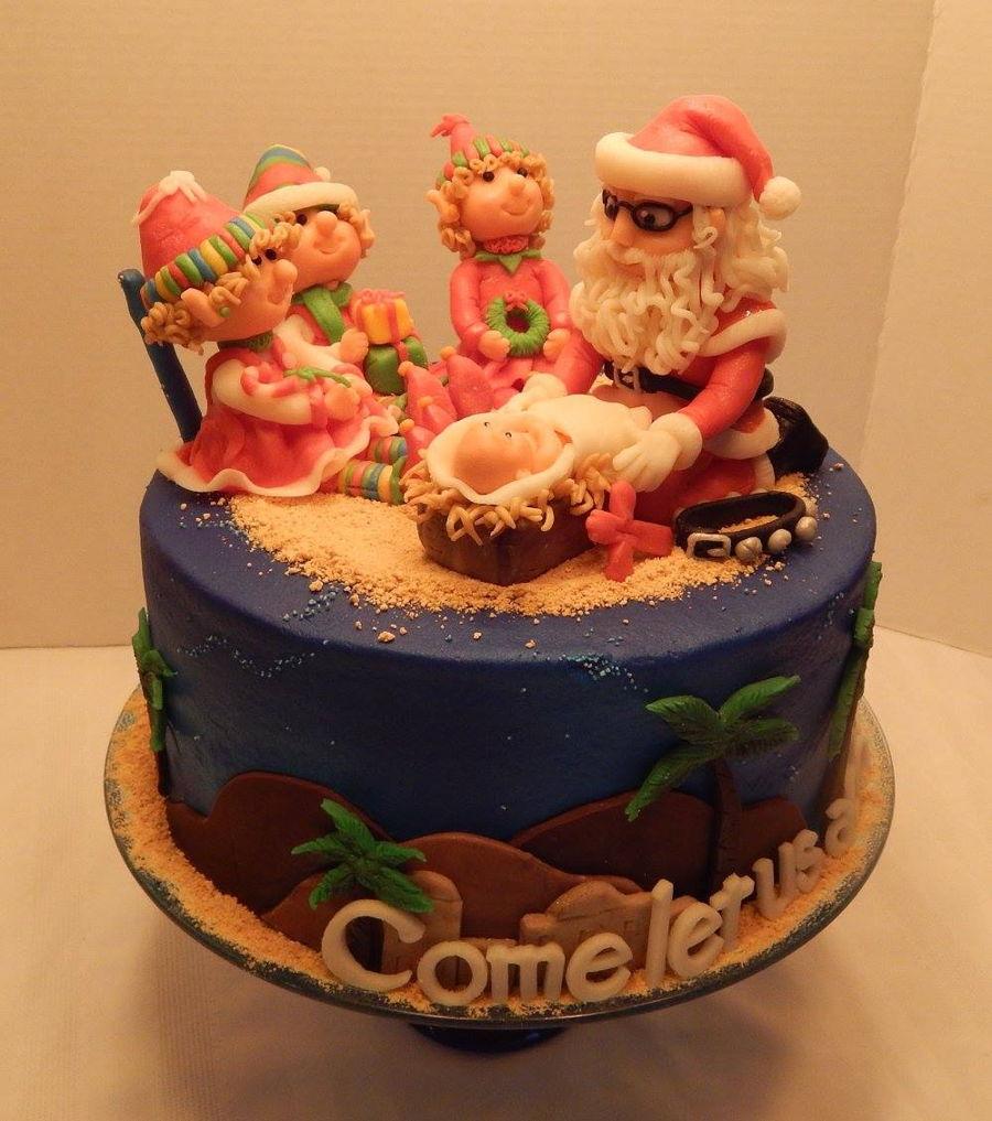 Jesus Birthday Cake Story