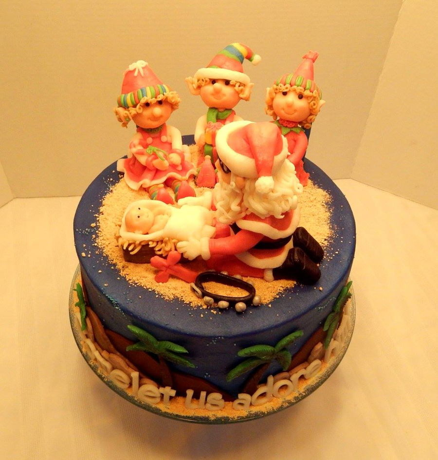 Jesus Birthday Cake Images : Happy Birthday Jesus - CakeCentral.com