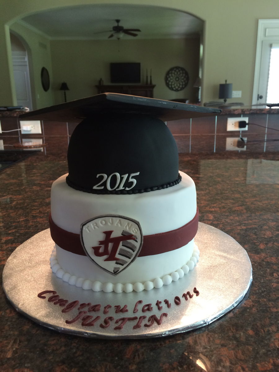 Round Graduation Cake Images : High School Graduation - CakeCentral.com
