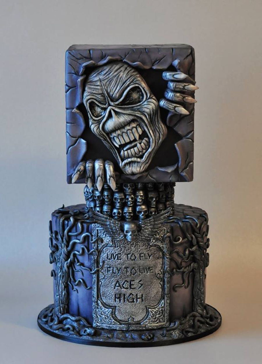 Wedding Cake Iron Maiden