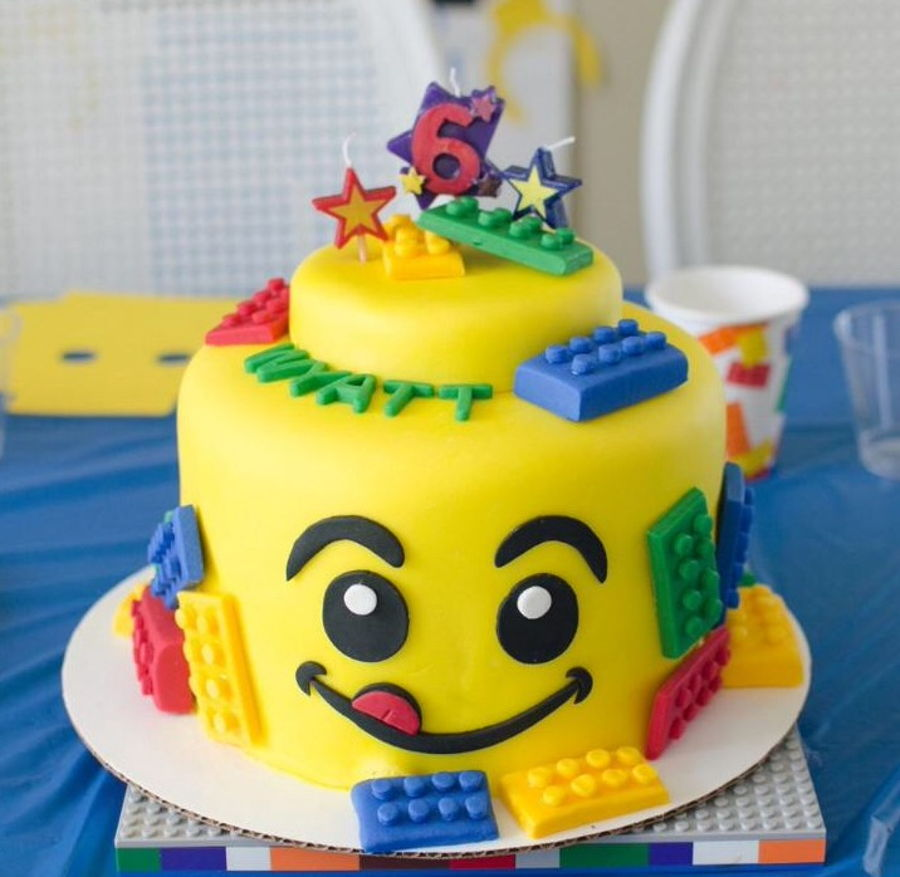 Lego Cake For 6Th Birthday Party