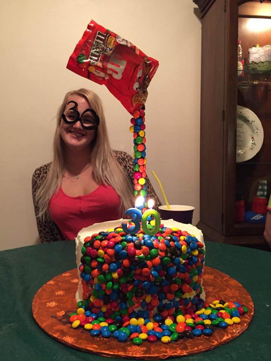 M Amp M Illusion Cake Cakecentral Com