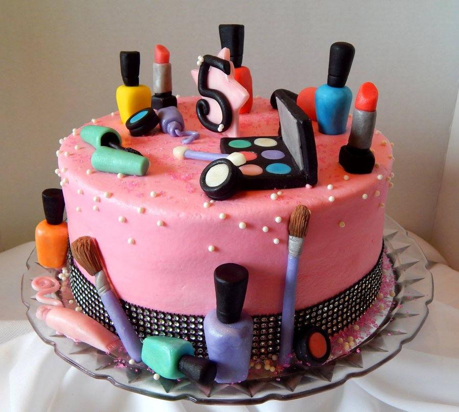 Makeup Cake Cakecentral Com
