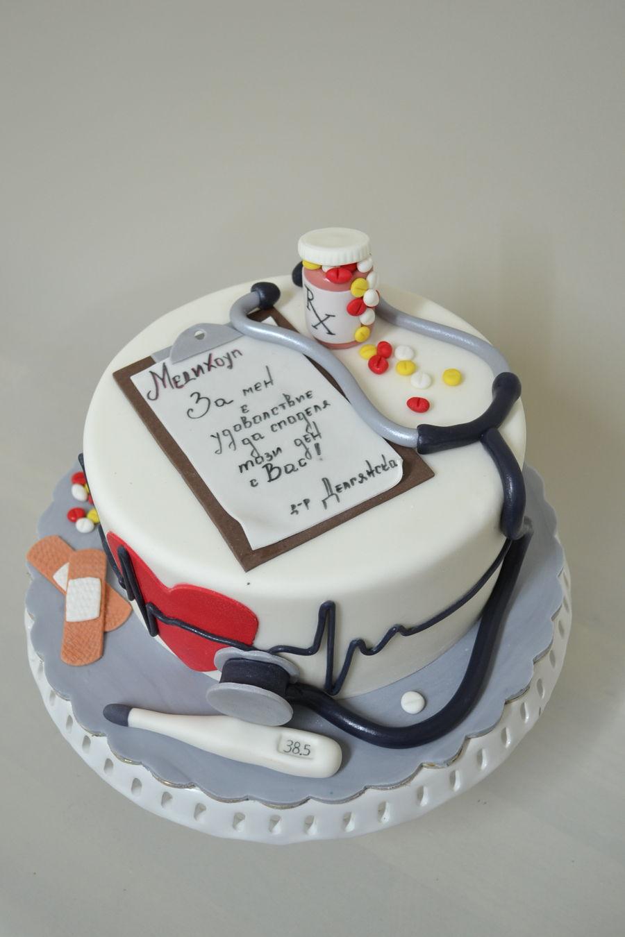 фото тортов для врачей счастью