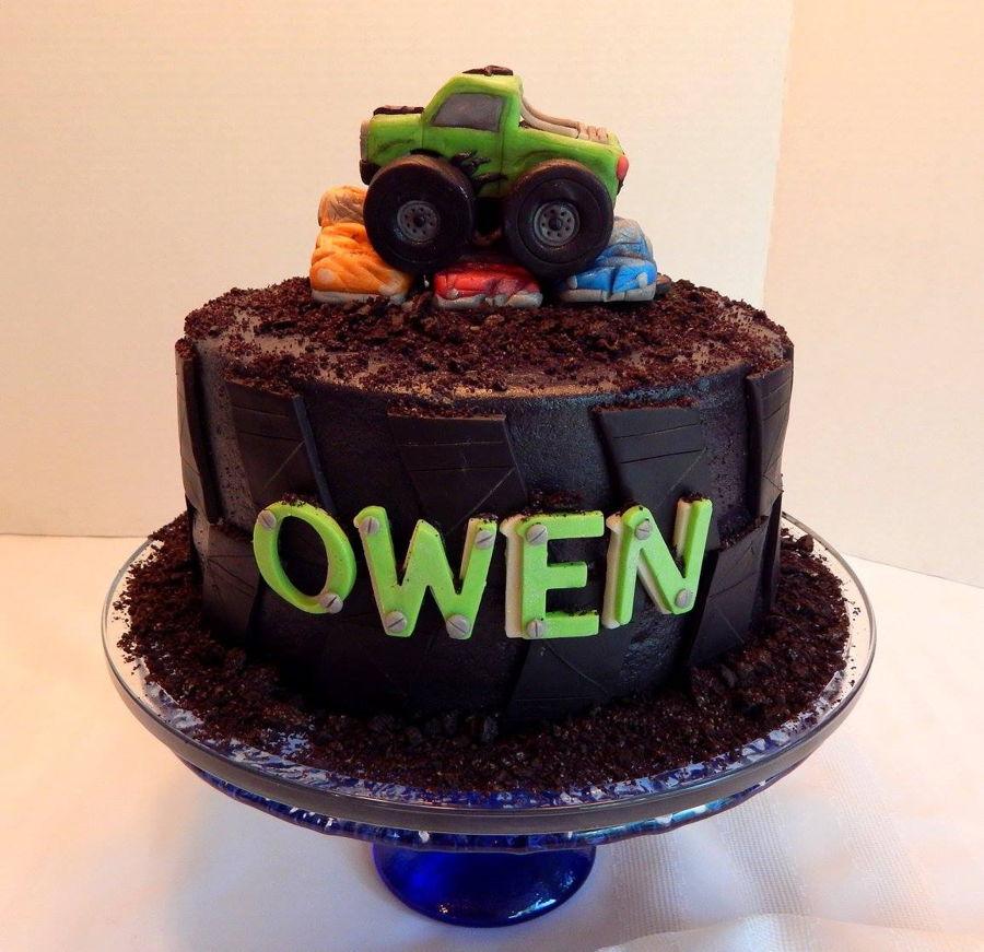 Monster Truck Tire Cake Cakecentral Com