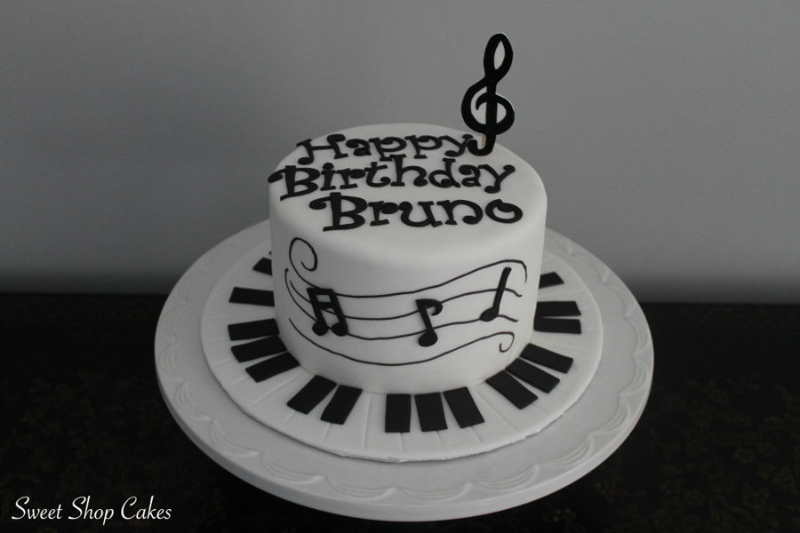 Music Themed Birthday Cake Cakecentral