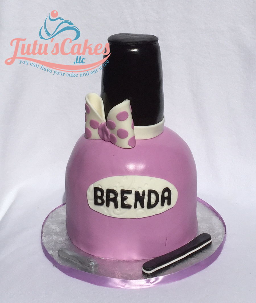 Nail Polish 3D Cakes - CakeCentral.com