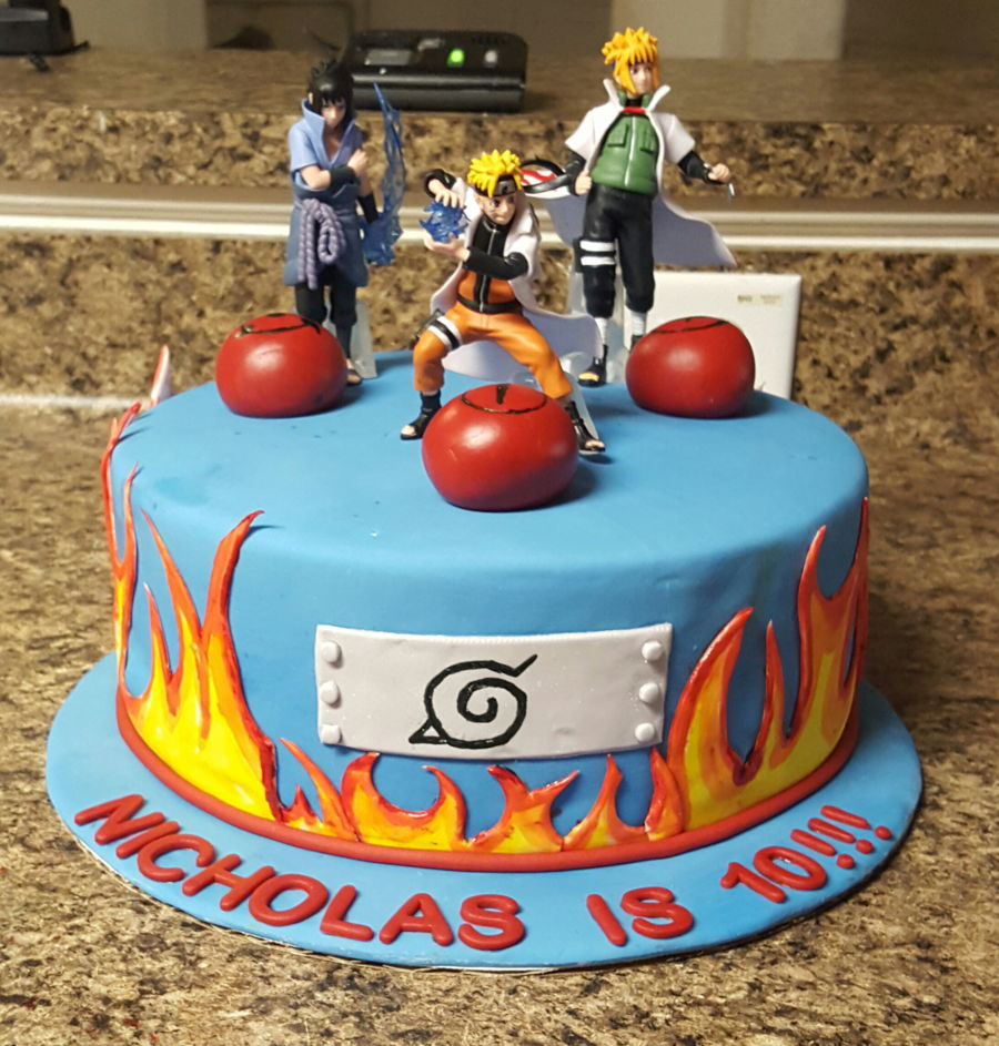 Anime Birthday Cake Toppers