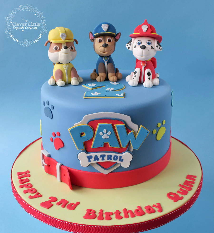 Paw Patrol Images For Cake : Paw Patrol Cake - CakeCentral.com