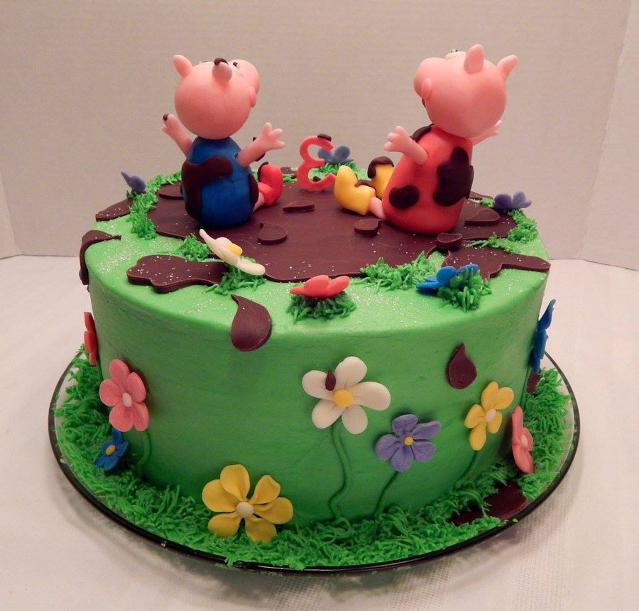 Peppa Pig Chocolate Cake Video