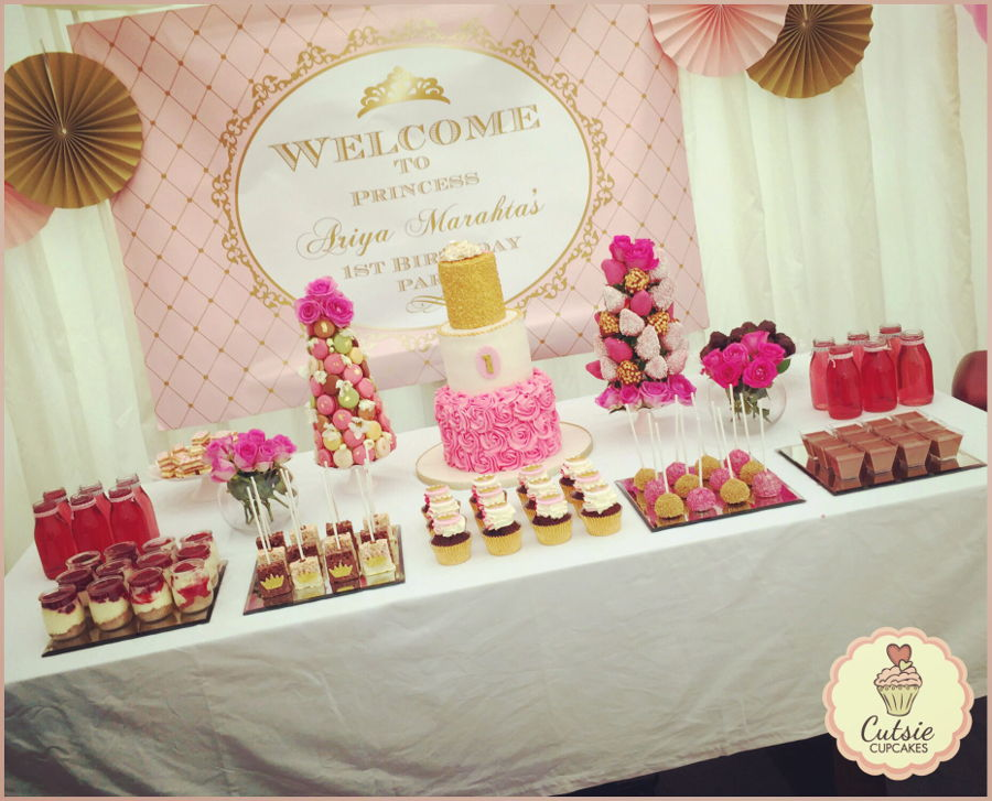 Princess Dessert Table Cakecentral Com
