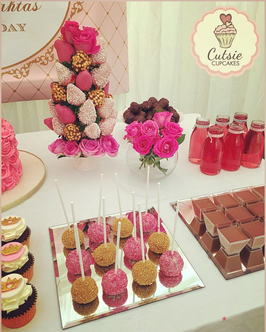 Princess Dessert Table Cakecentral Com