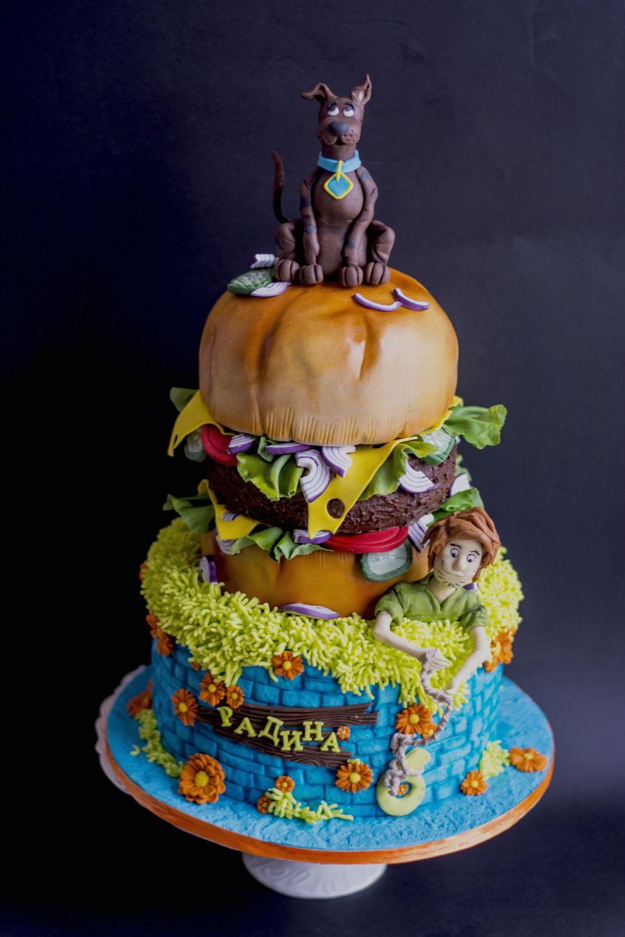 Scooby Doo Cake Cakecentral Com