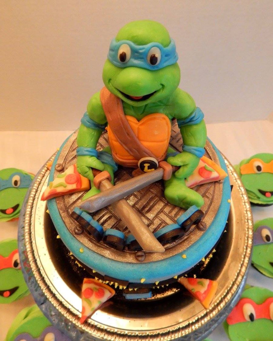 Teenage Mutant Ninja Turtles CakeCentralcom