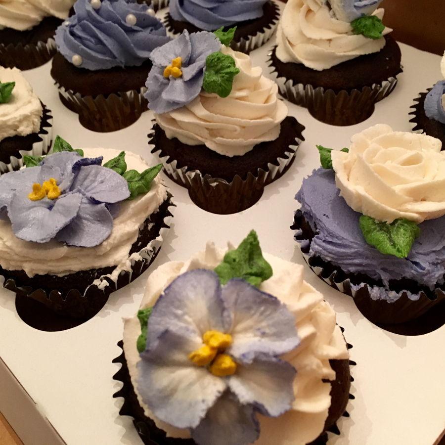 Decorated Chocolate Turkeys Www Dunmorecandykitchen Com: Thank You Chocolate Cupcakes