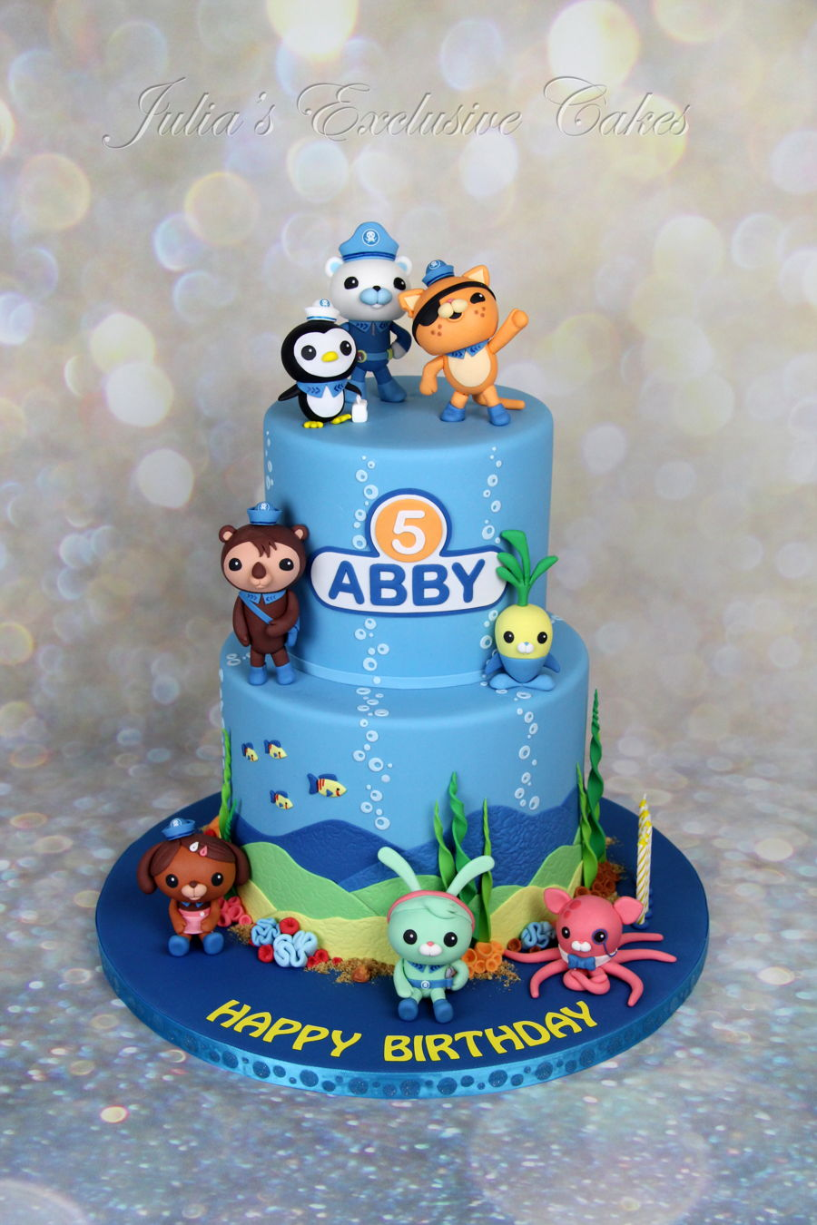 The Octonauts Themed Cake Cakecentral Com