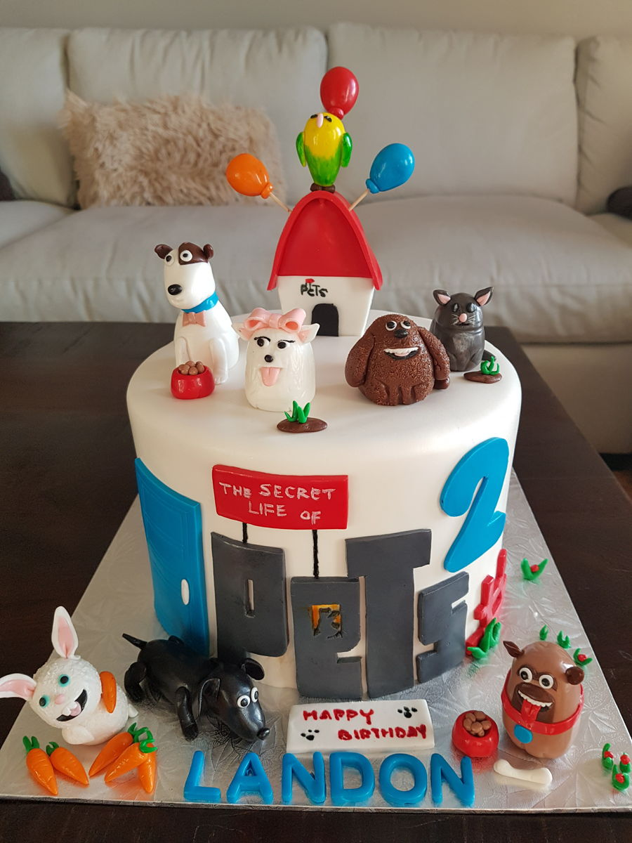 Images Of The Birthday Cake : The Secret Life Of Pet - CakeCentral.com