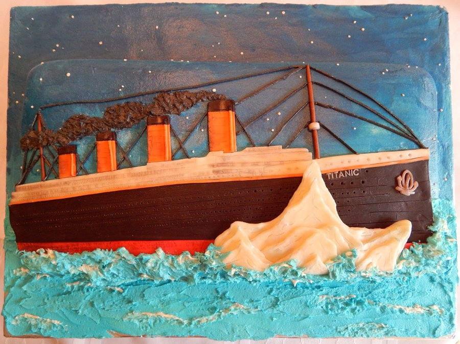Titanic Cake - CakeCentral.com