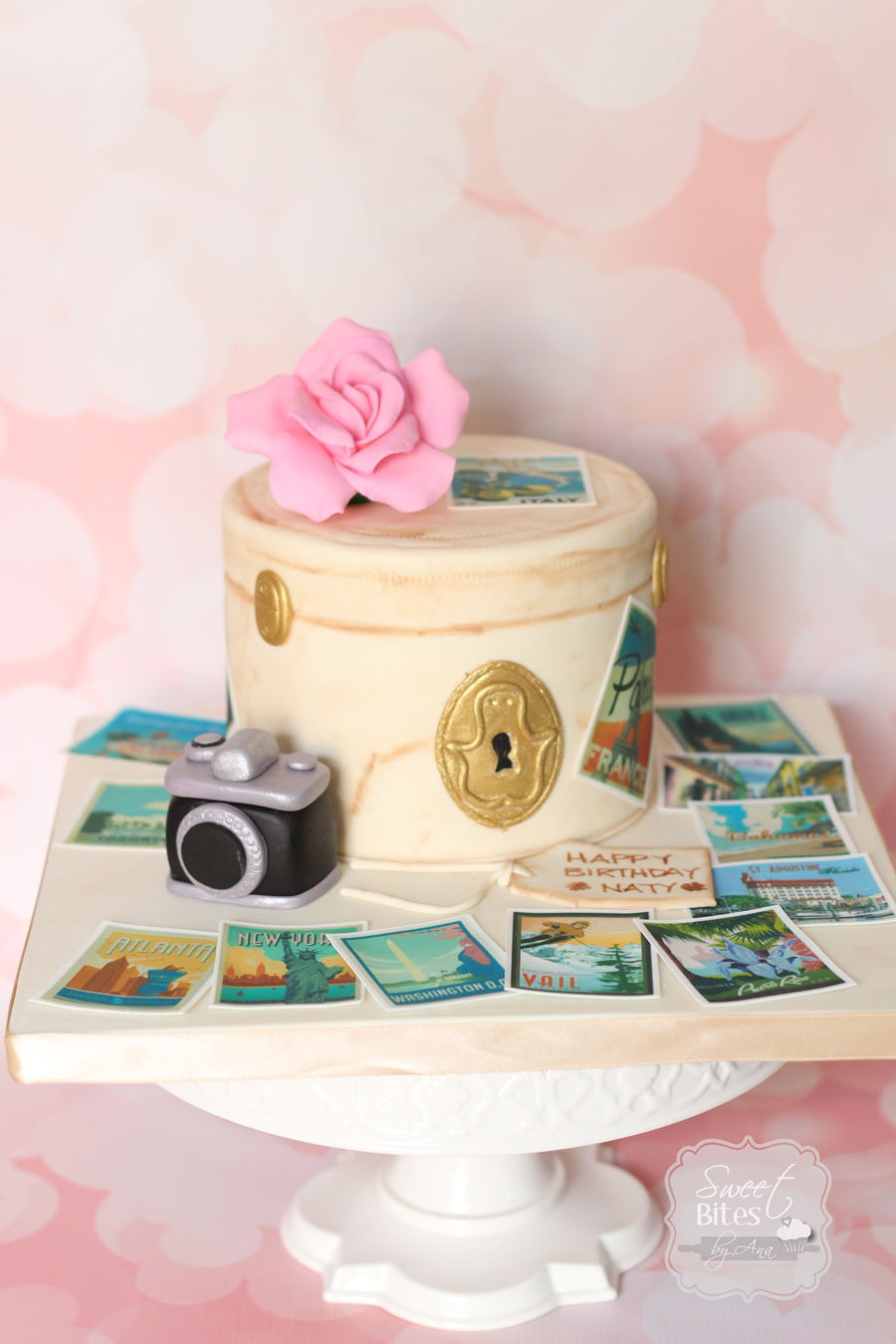 Japanese Theme Birthday Cake