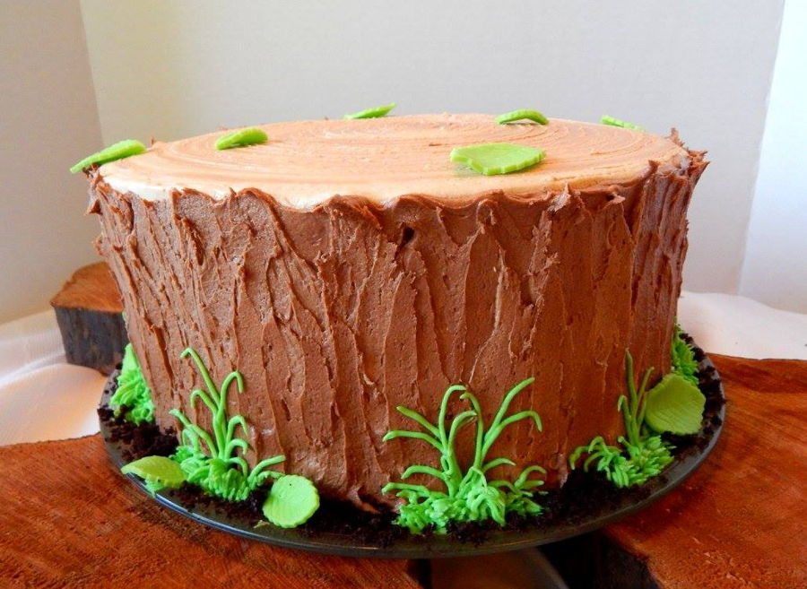 Tree Stump Cake Cakecentral Com