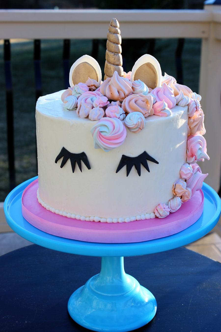 Unicorn Cake - CakeCentral.com