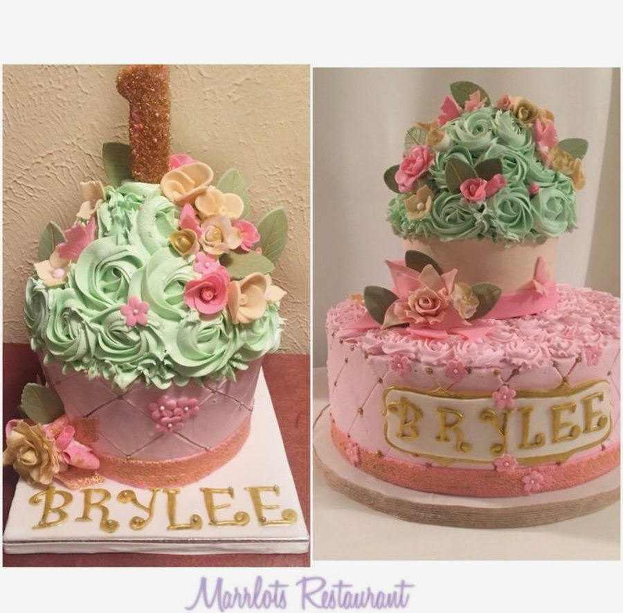 Vintage Giant Cupcake Birthday Cake On Central
