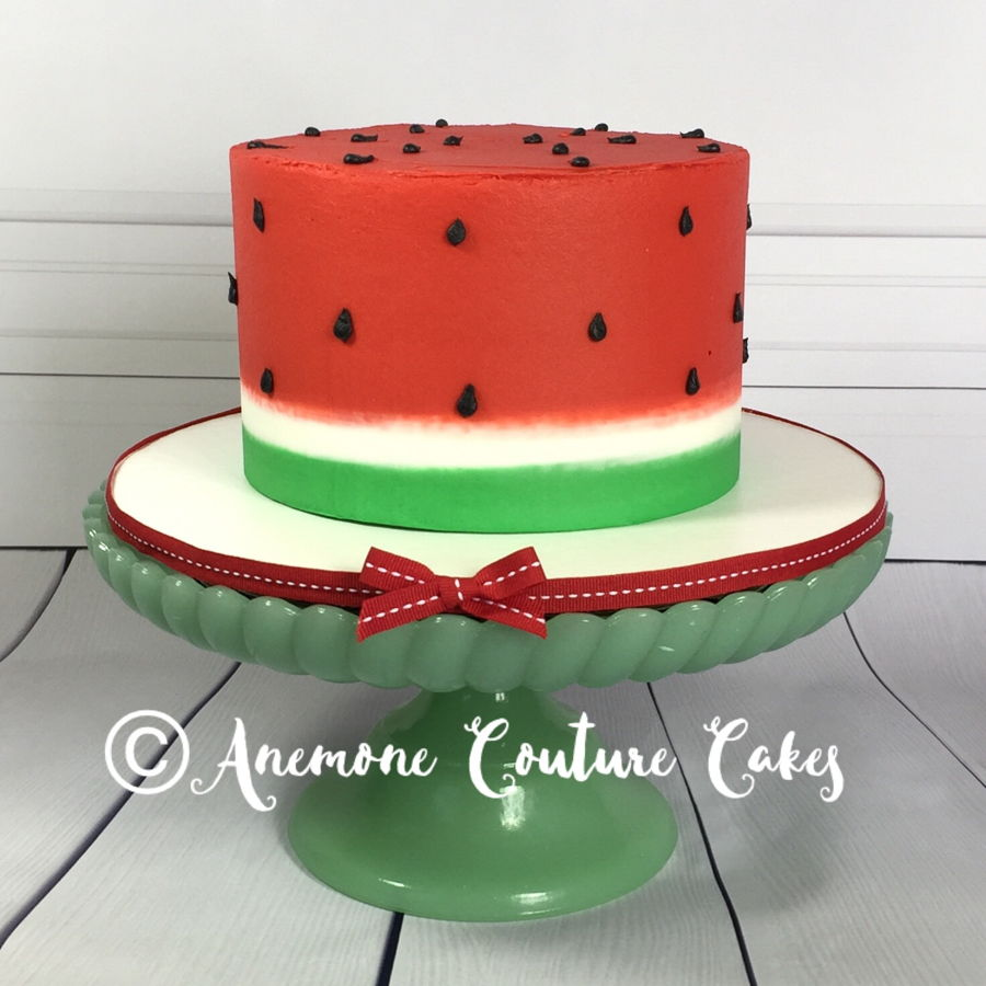 Watermelon Smash Cake on Cake Central