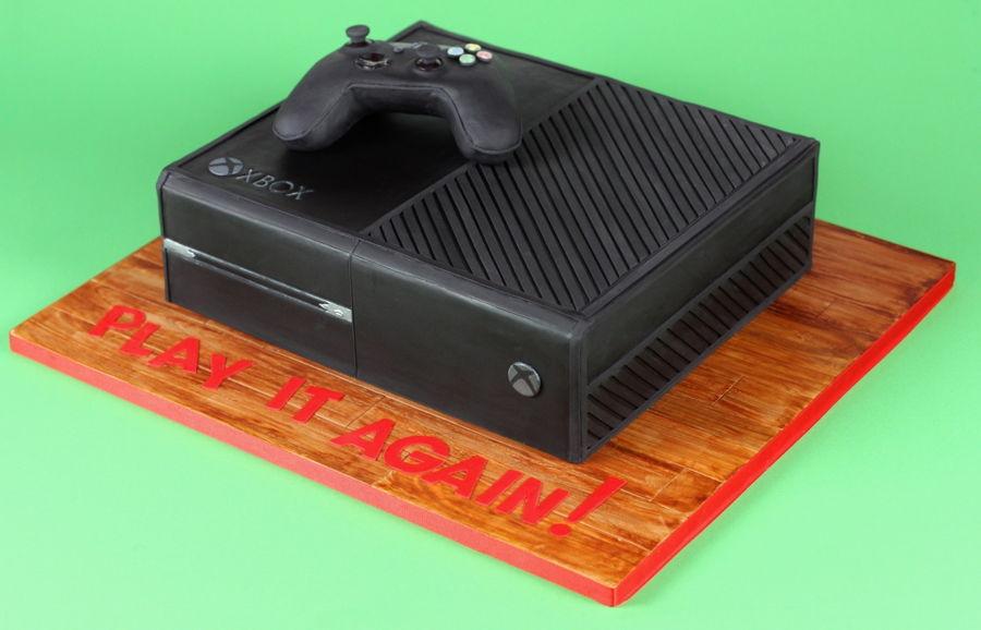 Xbox One Cake CakeCentralcom