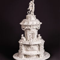 "Apollo & Daphne Inspired Bernini Wedding Cake I created this for the cover of Cake Central Magazine Volume 8 Issue 1.You can see my full ""Sketch To Cake"" article here: http://..."