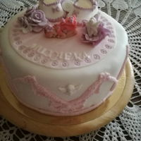 Baby Shower Cake For 40th her day
