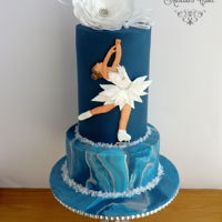 Figure Skating - Sport Cakes For Peace Collaboration This is my second time when I participate in collaboration. For Sport Cakes for Peace Collaboration I have chosen one of the winter sport I...