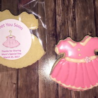 Girl Baby Shower Cookies Delaune Baby Shower