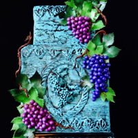 Grapes For Children ~ Sugar Art For Autism Collaboration Grapes for Children was inspired by the art work of Amanda LaMunyon. I was drawn to the rich colours and shadows and light that bounced off...